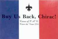 buy us back, Chirac !